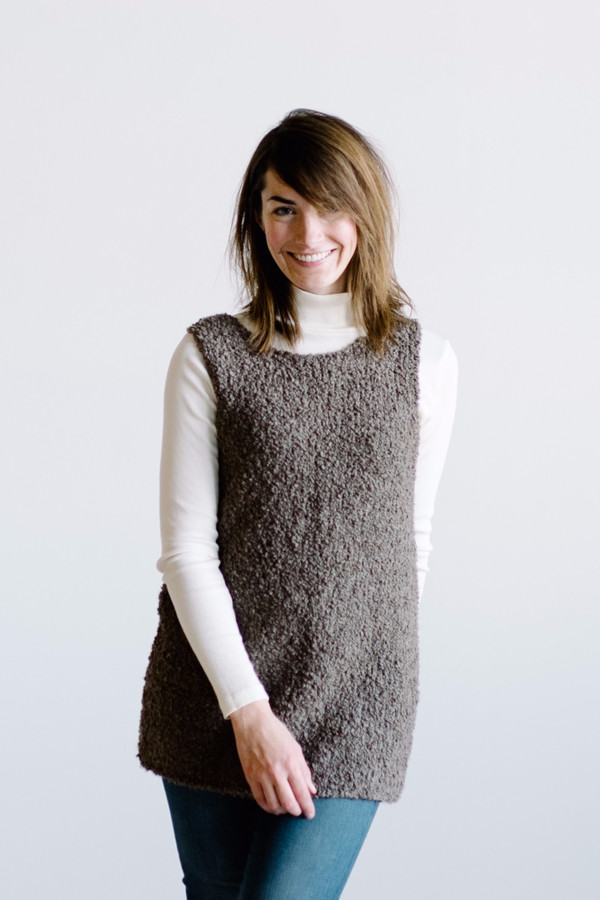 Kordal Eleanor Tank // Cocoa