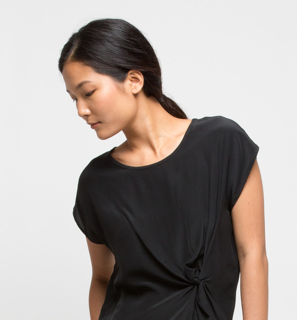 H. Fredriksson Twist Top Black