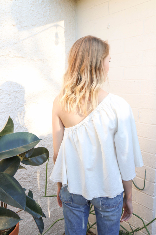 Lauren Winter Ballad Top in Ivory