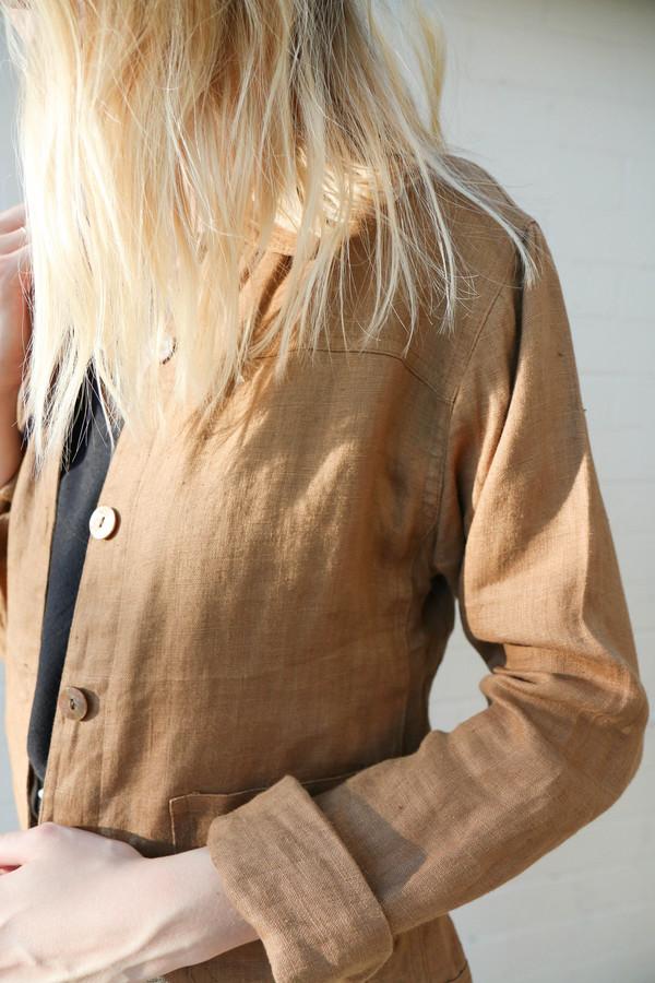 Linen Over-Shirt