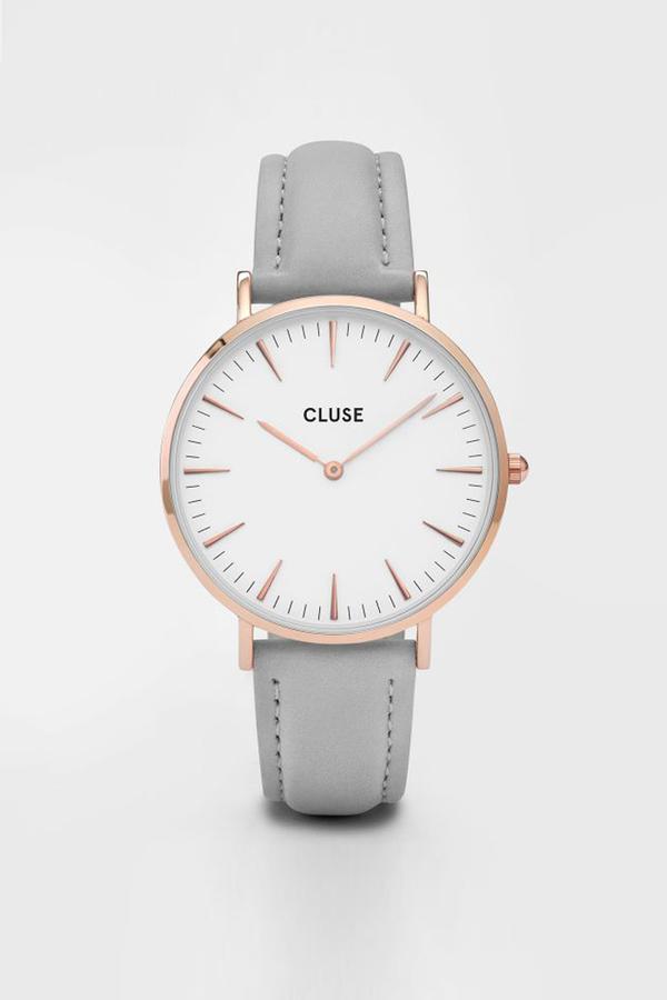 CLUSE WATCH La Boheme Rose Gold White/Grey