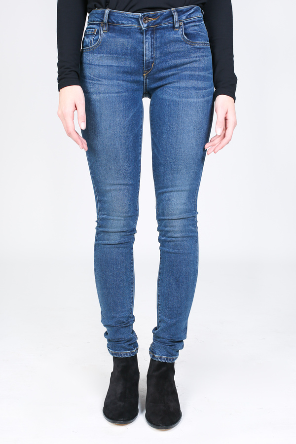 Raleigh Denim Workshop Surry mid rise skinny in perfecto