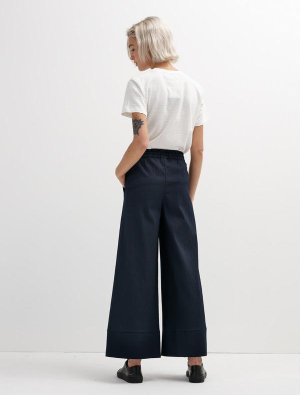 Norse Projects Womens Laura Seersucker Pants