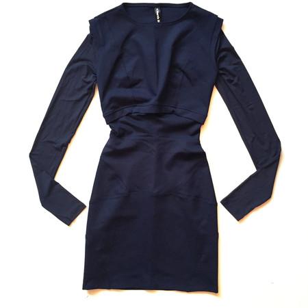 MARTIN DHUST - ADJUSTED DRESS - BLUE