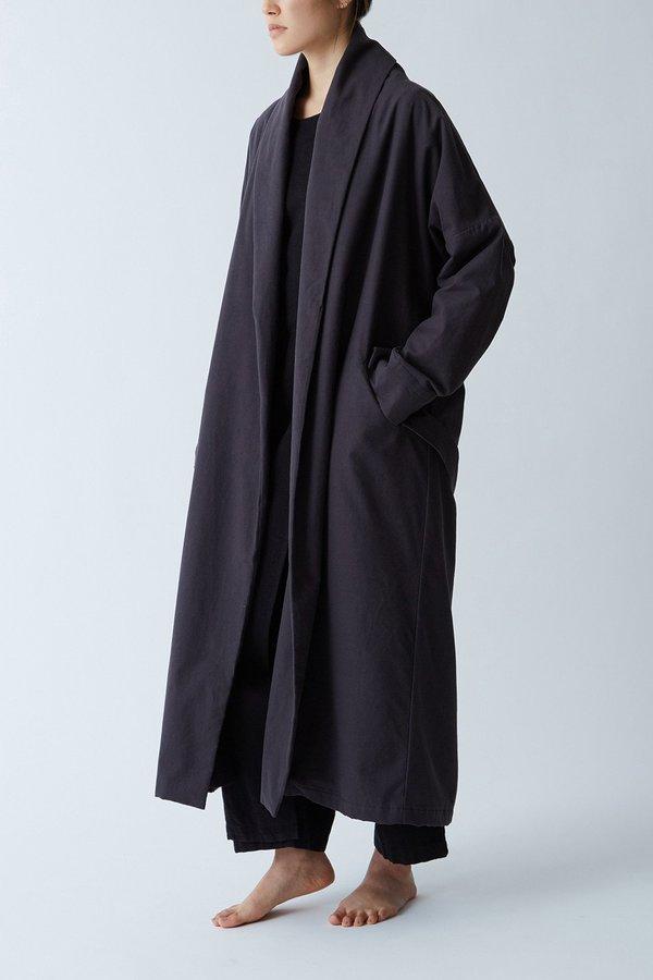 Black Crane Long Coat