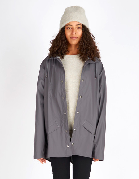 Rains Jacket Women's Smoke