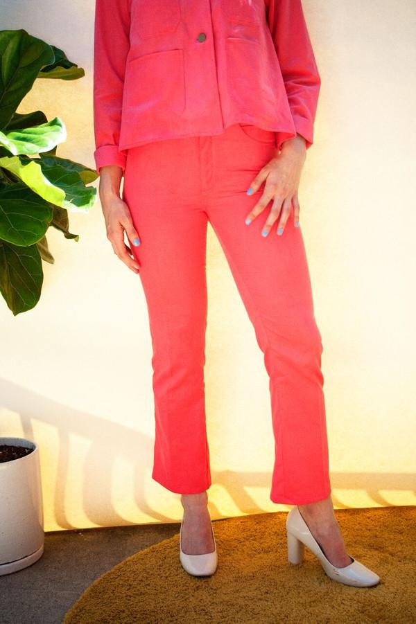 Lykke Wullf Fonda Jeans in Pink Flamingo