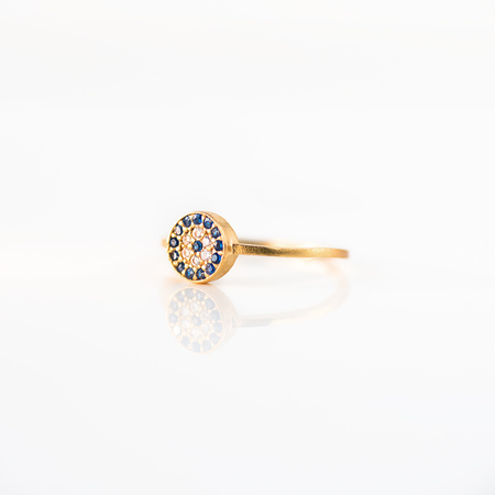 Blee Inara Evil Eye Ring