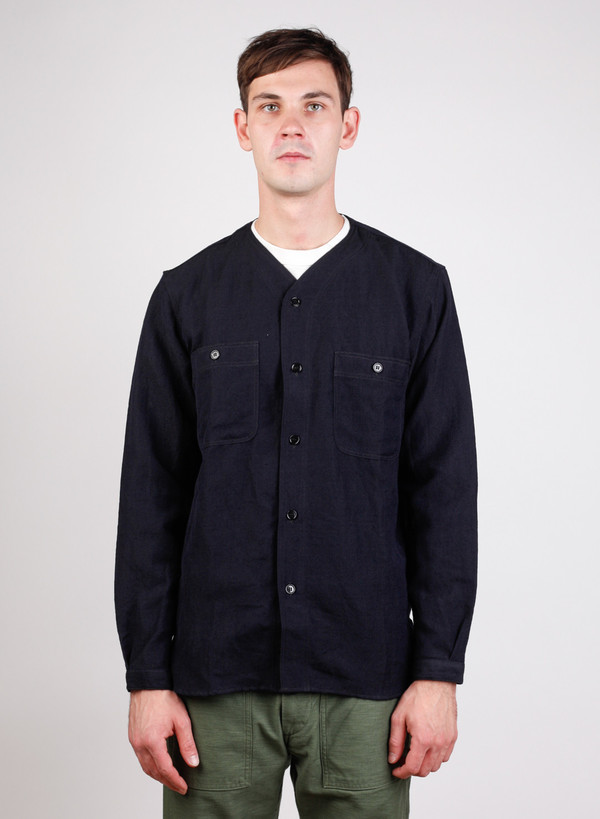 Men's Orslow Baseball Shirt Black