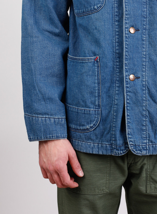 Men's Orslow Coverall with Liner 2 year wash