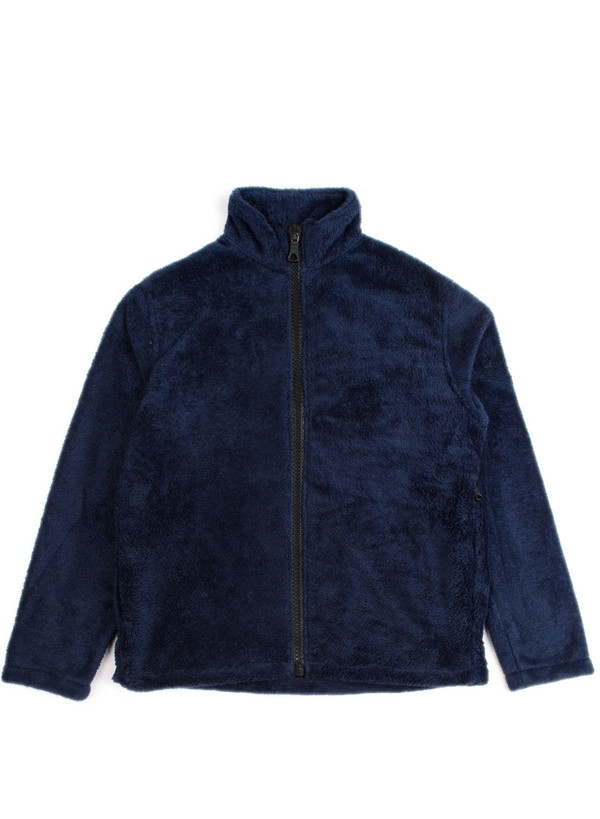 Men's Our Legacy Funnel Jacket Navy Polarfleece