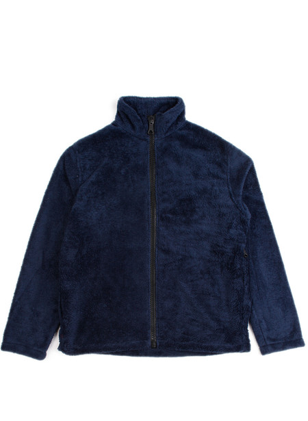 Men's Our Legacy Funnel Blouson Navy Polarfleece