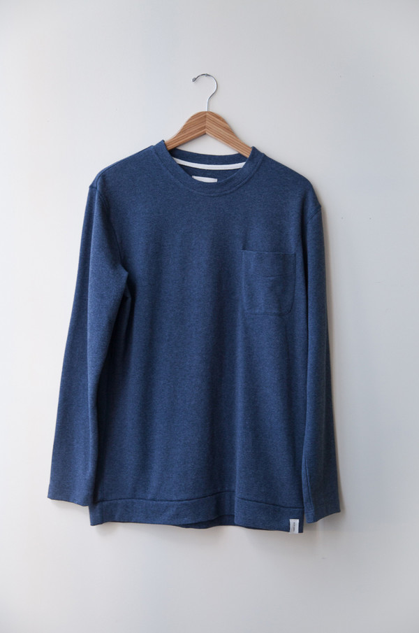 Men's Boy+Girl L/S POCKET TEE