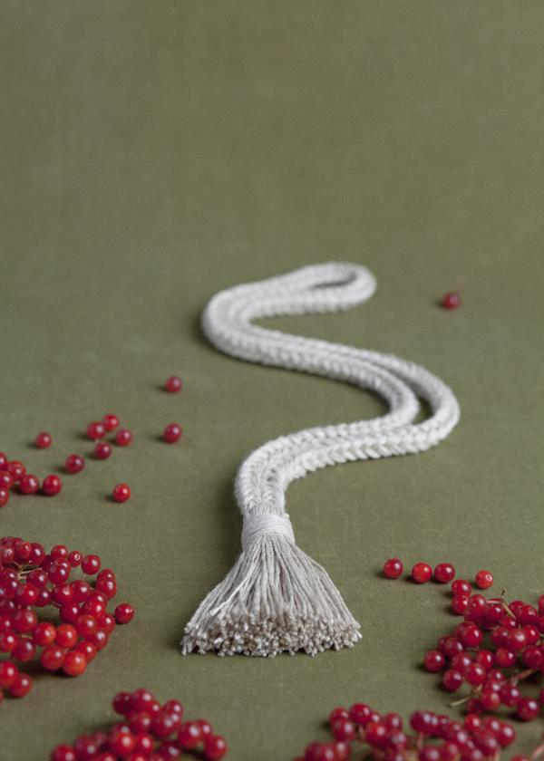 Erin Considine Square Tassel Braid Necklace