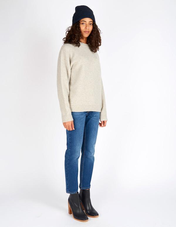 Filippa K Cozy Wool Pullover Dove Melange