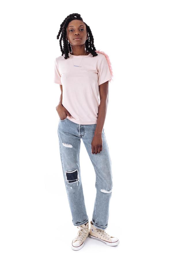 Sightline Sand Tee Shirt (Rose)