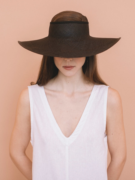 Brookes Boswell Monarch Straw Hat