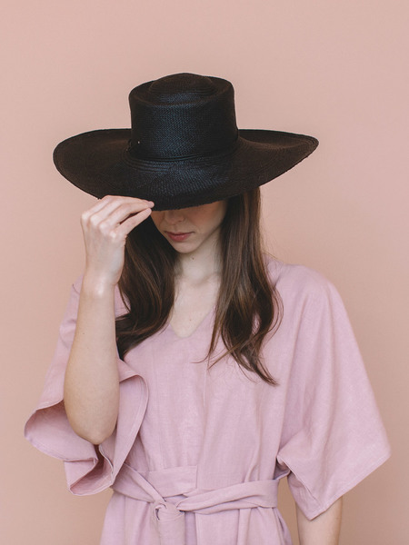 Brookes Boswell Reinette Straw Hat