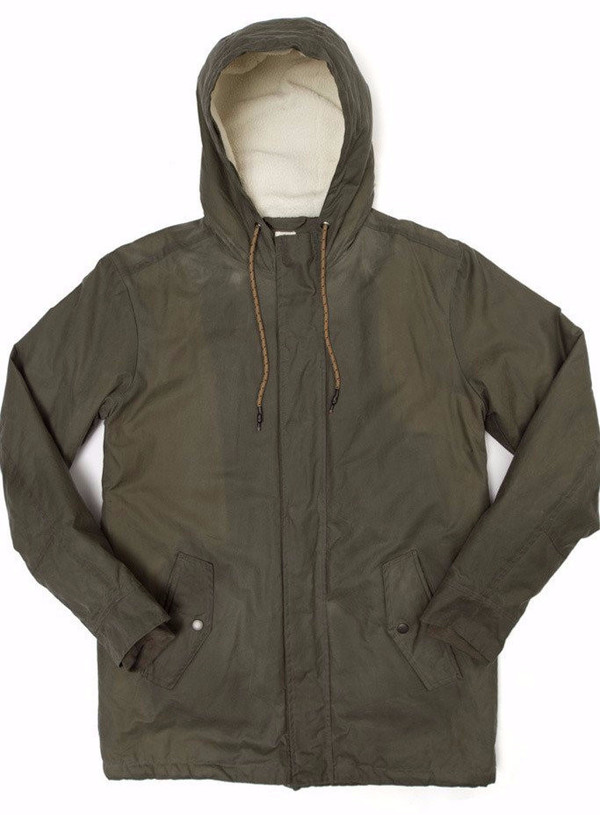 Men's Bridge & Burn Sitka Field Waxed Parka