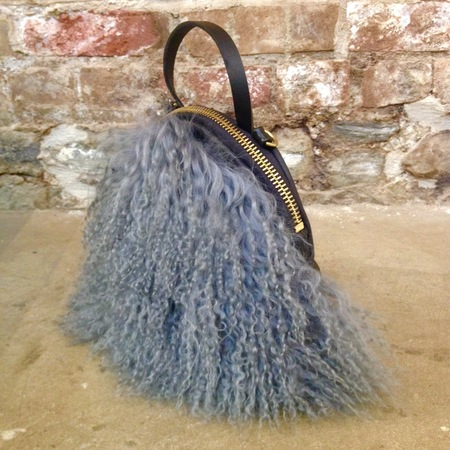Eleven Thirty 'Mongolian Sheepskin Anni' bag