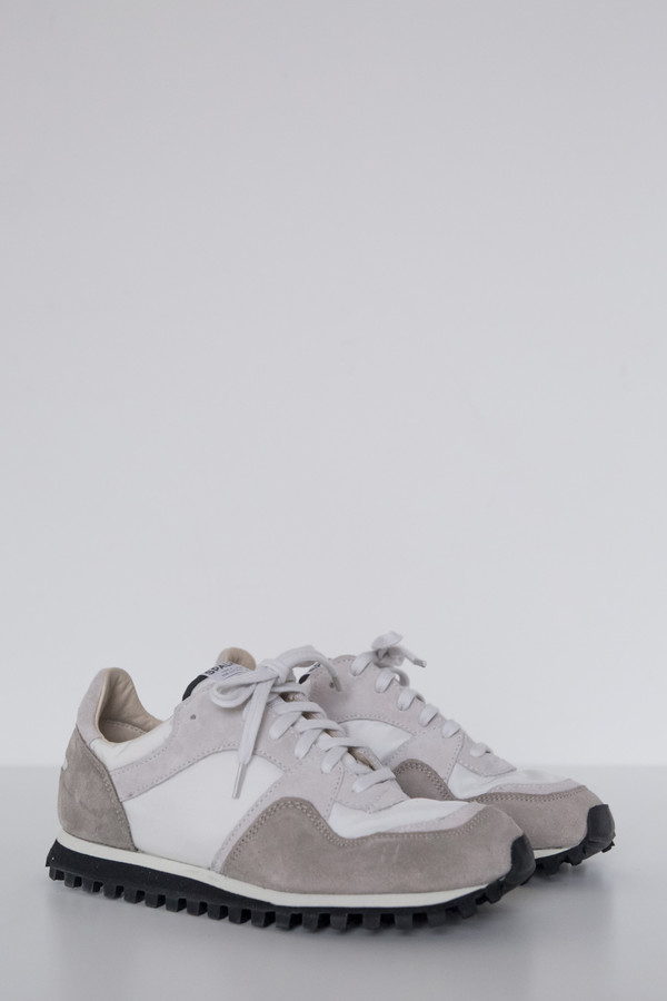 Spalwart Suede Marathon Low Trail Shoe - White