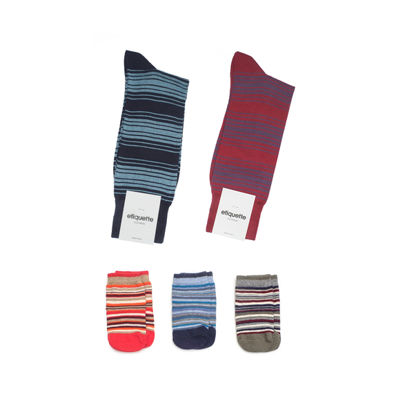 Etiquette Mine-mini Daddy Socks Set One