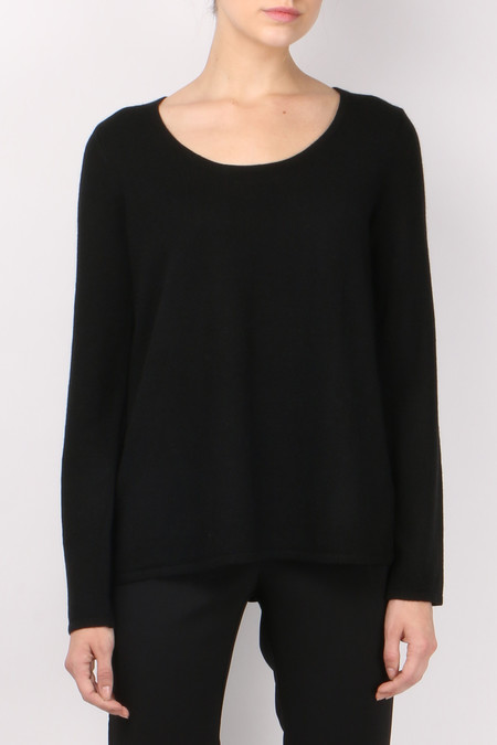 L'agence Preston Blocked Sweater Black