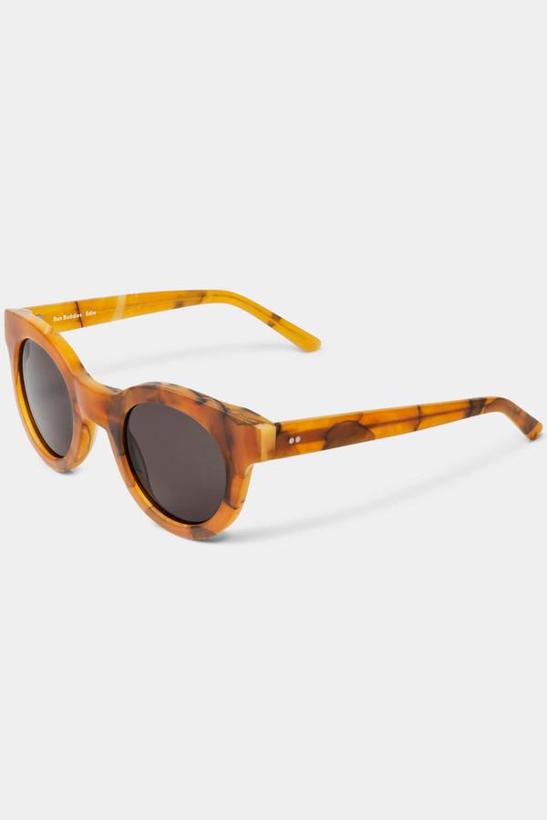 Sun Buddies Acetate Edie Sunglasses - Yellow Truffle