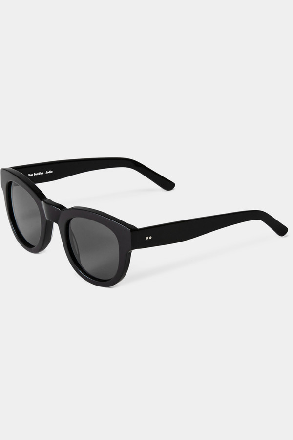Sun Buddies Acetate Jodie Sunglasses - Black