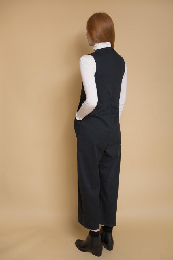 Micaela Greg Utility Jumpsuit / Black