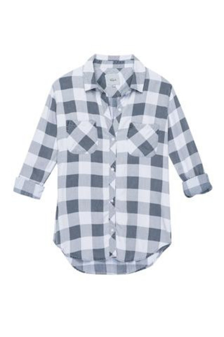 Rails Carter Button Down - Blue Check