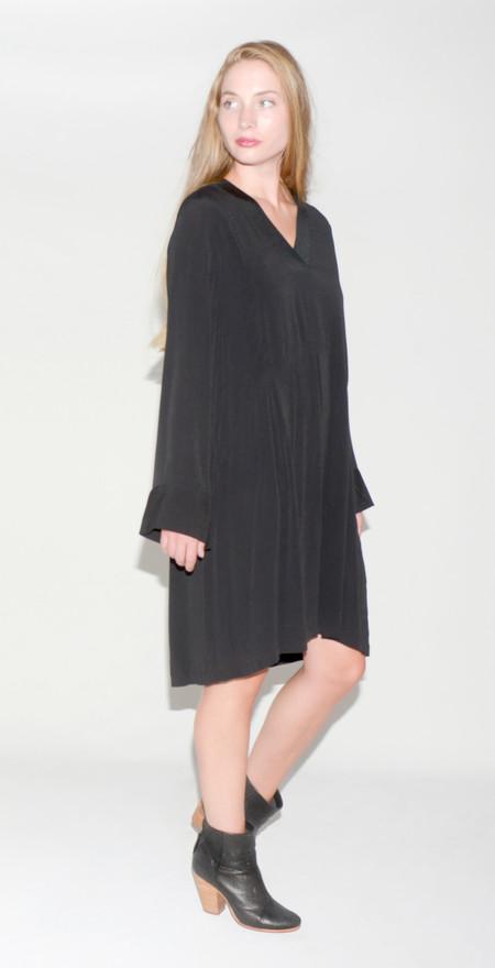 "Just Female ""Laura"" Black Vneck Dress"