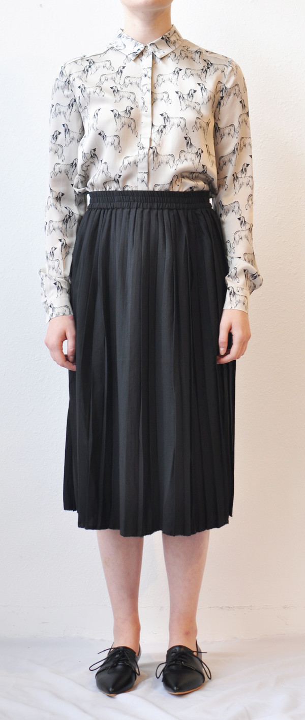 "Storm + Marie Storm and Marie ""Lily"" Plisse Gathered Skirt"
