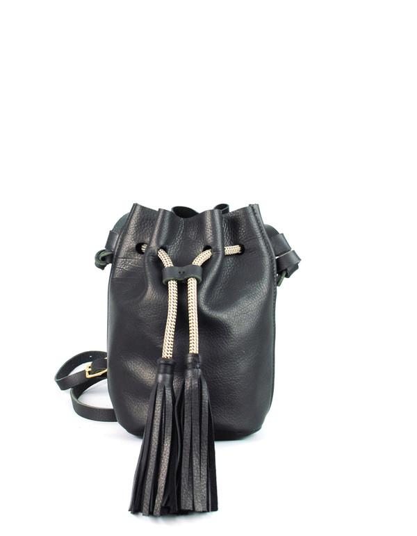 Eleven Thirty Christie Mini Bucket Bag Black