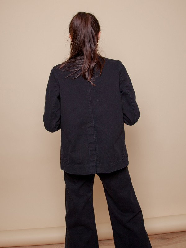 Carleen Triangle Pocket Jacket - Black
