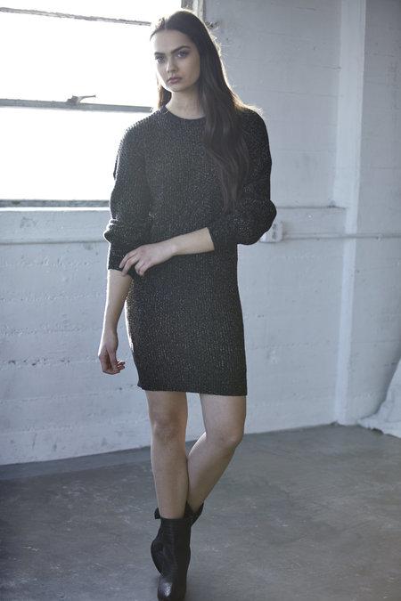 Callahan Sparkle Crewneck Dress