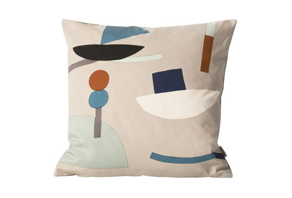 Ferm Living SEASIDE CUSHION - GREY