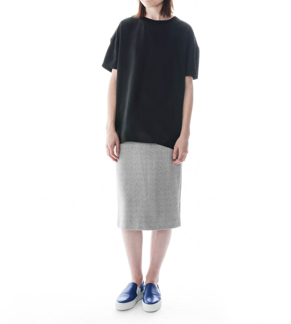 Won Hundred Black Tab Woven T-Shirt