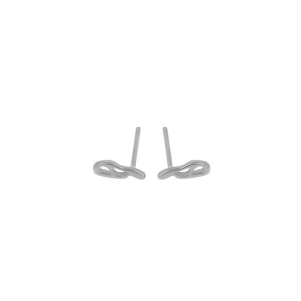 Shahla Karimi Paris Lake Stud Earrings
