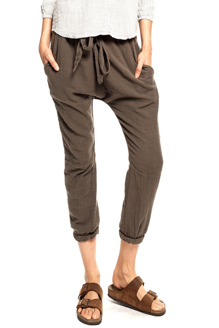 SUNDRY   Belted Harem Pant in Military