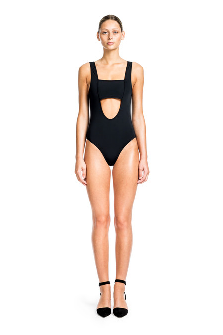Beth Richards Andy One Piece - Black ONE PIECE WITH BANDEAU FRONT