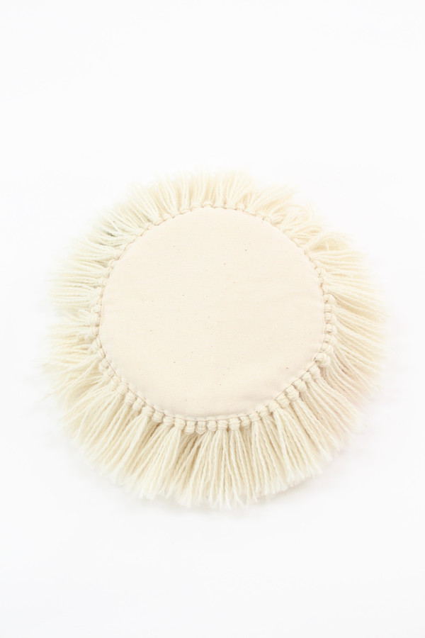 Alpaca Handmade Fringe Pillows A4