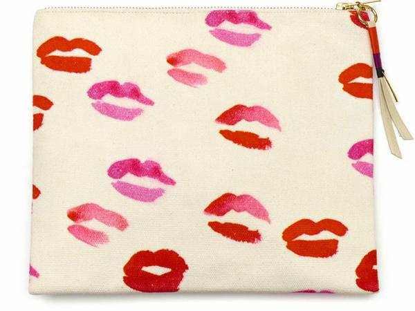 Lizzie Fortunato Kiss Pouch