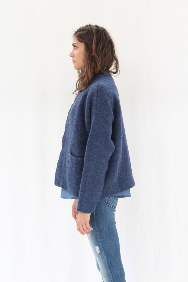 Lauren Manoogian Pea Coat Denim