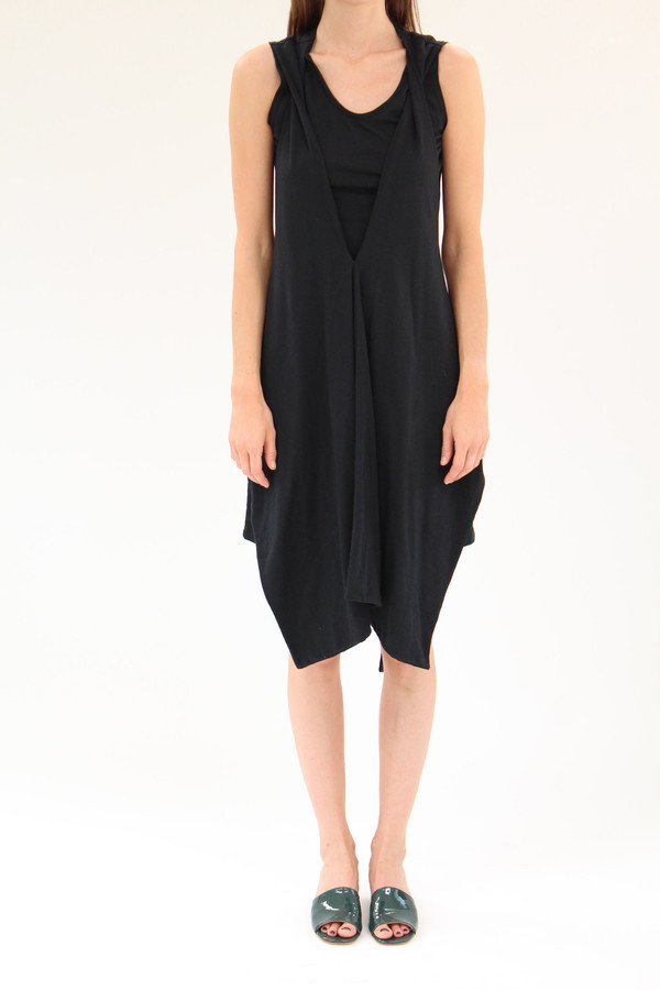 Beklina Criss Cross Jersey Wrap Dress
