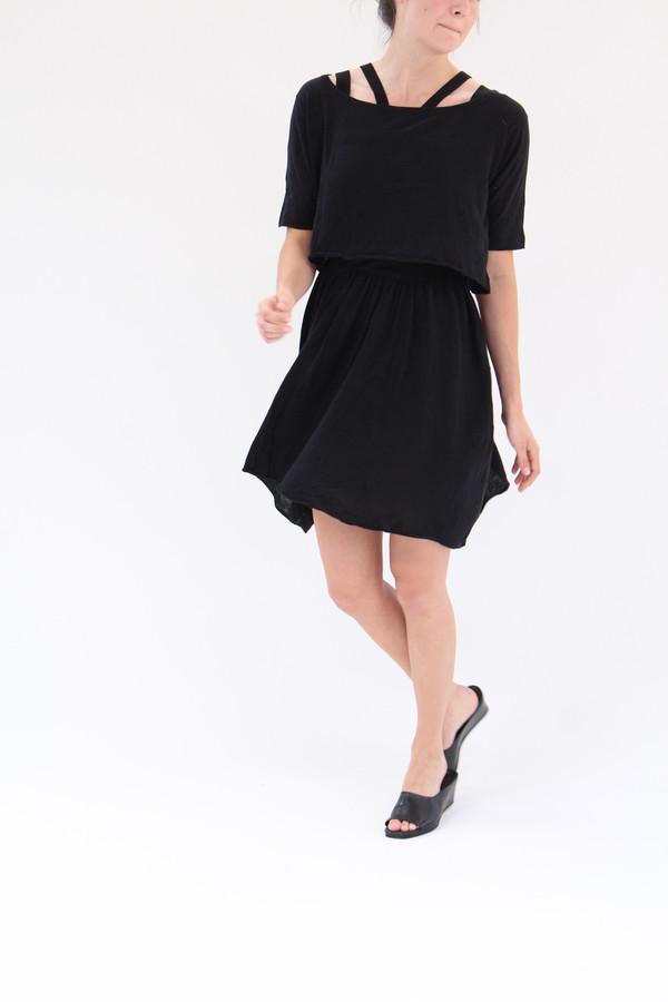 Beklina Detached Dress Black