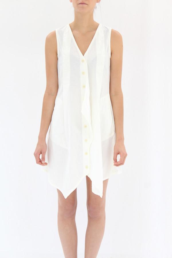 Prairie Underground Arrowhead Dress White