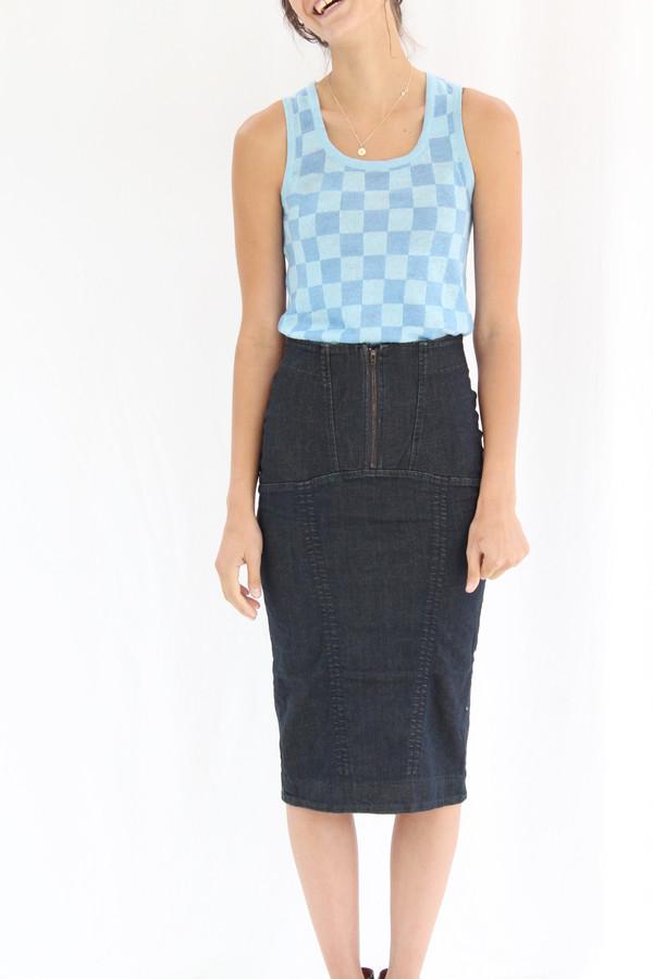 Prairie Underground Monomania Skirt Mechanic Blue