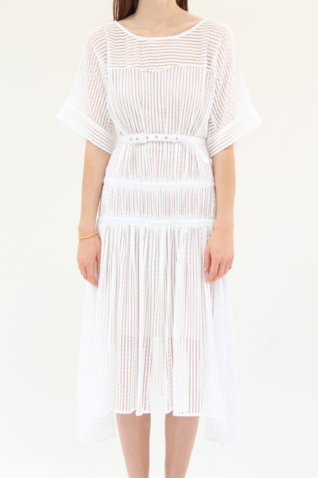 Rachel Comey Fauna Dress Bar Lace White