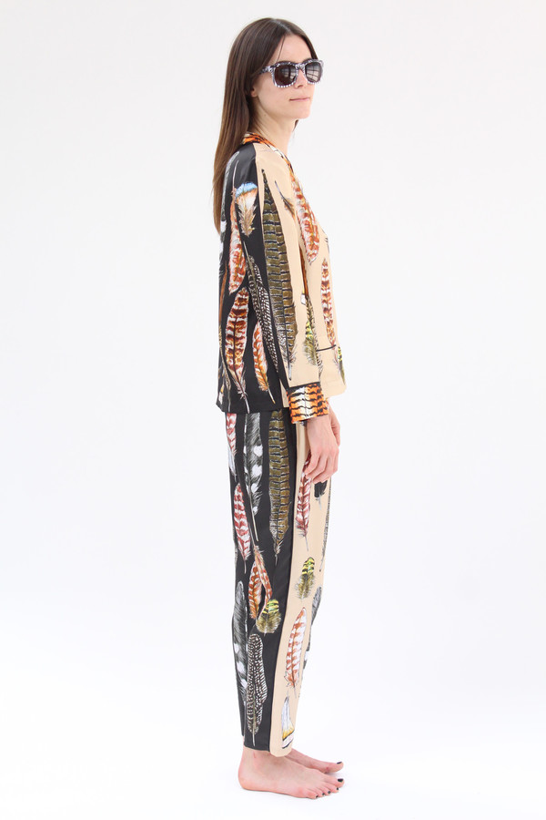 SWASH Silk PJ's Leopard Plumage